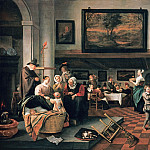 The Christening, Jan Havicksz Steen
