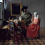 Jan Vermeer – The Glass of Wine, Part 3