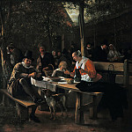 The pub garden, Jan Havicksz Steen