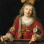 Part 3 - Johann Spilberg II (1619-1690) - Jael with hammer and nail