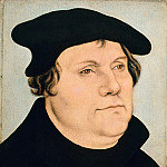Part 3 - Lucas Cranach I (workshop) - Portrait of Martin Luther