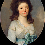 Part 3 - Johann Friedrich August Tischbein (1750-1812) - Henriette Countess of Egloffstein