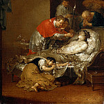 Part 3 - Januarius Zick (1730-1797) - The St. Borromeo reaches a plague the Lords Supper