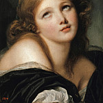 Jean Baptiste Greuze – Head of a young girl, Part 3