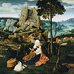 Joachim Patenier – The Rest on the Flight to Egypt, Part 3
