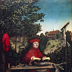 Part 3 - Lucas Cranach I (1472-1553) - Cardinal Albrecht of Brandenburg as St Jerome