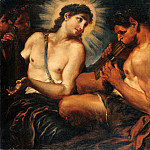 Part 3 - Johann Carl Loth (1632-1698) - Musical contest between Apollo and Marsyas