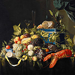 Jan Davidsz. de Heem – Still Life with Fruit and Lobster, Part 3