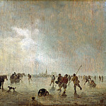 Part 3 - Jan van Goyen (1596-1656) - Icy landscape with skaters