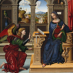 Part 3 - Lucchesisch master, 16c. - The Annunciation