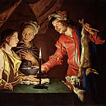 Part 3 - Matthias Stom (c.1600-c.1652) - Esau sold his birthright