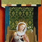 Master of the Darmstadt Passion – Enthroned Madonna with Child, Part 3