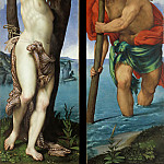The St. Sebastian and St.. Christopher, Lorenzo Lotto