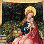 Part 3 - Robert Campin (c.1375-1444) - Madonna by a Grassy Bank