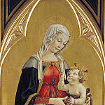 Master of the Gardner Annunciation – Enthroned Madonna with Child, Part 3