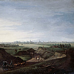 Johann Georg Rosenberg – View of Berlin from the rolling hills at Kottbusser Tor, Part 3