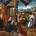 Master of the Female Half-Lengths – Triptych with the Adoration of the Magi, Part 3