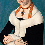Part 3 - Lucas Cranach I (workshop) - Barbara Duchess of Saxony