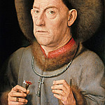 Part 3 - Jan van Eyck (circle) = Man with pinks