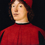 Part 3 - Lorenzo Costa (1460-1535) - Portrait of a young man