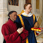 Etienne Chevalier with St. Stephen, Jean Fouquet