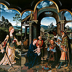 Part 3 - Joos van Cleve (1485-1540) - Triptych with the Adoration of the Magi