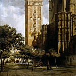 Adrien Dauzats -- The Giralda of Seville, Part 2 Louvre