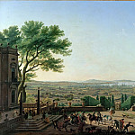 Claude-Joseph Vernet -- City and Port of Toulon, Part 2 Louvre