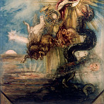 Gustave Moreau -- Fall of Phaeton, Part 2 Louvre