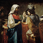 Part 2 Louvre - Valentin de Boulogne -- The Fortuneteller