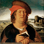 After Quinten Metsys -- Portrait of the Physician Paracelsus, Part 2 Louvre