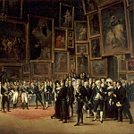 François-Joseph Heim -- Charles X Distributing Prizes after the Salon of 1824, 15 January 1825, Part 2 Louvre