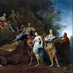 Part 2 Louvre - Jean Restout I (1663-1702) -- Orpheus in the Underworld to Demand the Return of Eurydice, or Music