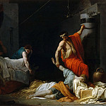 Jean François Pierre Peyron -- The funeral of Miltiades, Part 2 Louvre