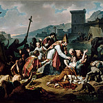 Nicolas André Monsiaux -- The devotion of Monseigneur de Belzunce during the plague in Marseille, 1720, Part 2 Louvre