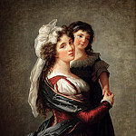 Part 2 Louvre - Madame Rousseau and her Daughter, 1789 (oil on canvas)Title: -- Vigee-Lebrun, Elisabeth Louise (1755-1842)Primary creator: