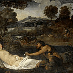 Part 2 Louvre - Titian -- Jupiter and Antiope