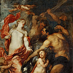 Anthony van Dyck -- Venus at the Forge of Vulcan, Part 2 Louvre