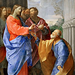 Part 2 Louvre - Guido Reni (1575-1642) -- Christ Entrusting the Keys to Saint Peter