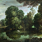 Part 2 Louvre - Paul Bril (1554-1626) -- Duck Hunt