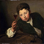 Part 2 Louvre - Philippe Mercier -- The young wine taster