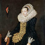 School of Frans Hals -- Catharina Both van der Eem, third Wife of Paulus van Beresteyn, Part 2 Louvre