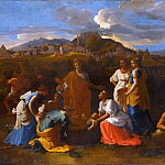 Nicolas Poussin -- Moses saved from the flood, Part 2 Louvre