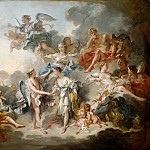François Boucher -- Marriage of Cupid and Psyche , Part 2 Louvre