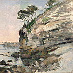L'Estaque, Evening Effect, Paul Cezanne