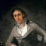 Portrait d'homme-Male portrait Canvas, 99 x 68 cm R.F. 1476, Francisco Jose De Goya y Lucientes