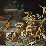 Part 2 Louvre - Antonio Carracci (c. 1583-1618) -- The Flood