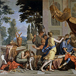 Part 2 Louvre - Charles Le Brun -- Death of Meleager