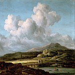 Part 2 Louvre - Jacob van Ruisdael (1628 or 1629-1682) -- The Stroke of Sunshine