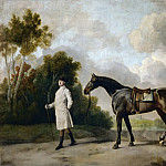 Part 2 Louvre - George Stubbs -- Assheton, first Viscount Curzon, and his mare, Maria